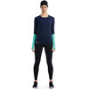Mons Royale W's Bella Coola Tech LS Navy/Mint